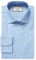 Thomas Pink Suffolk Stripe Slim Fit Dress Shirt