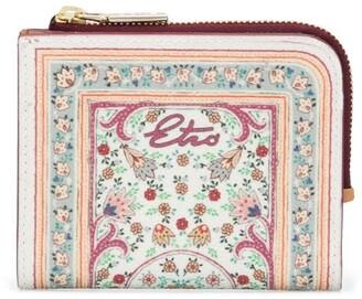 Etro Floral-Print Wallet