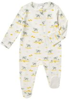 Angel Dear Cow-Print Zip Footie Pajamas, Size 0-9 Months