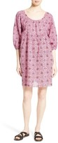 Apiece Apart Women's Tamsila Print Cotton Shift Dress