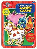 T.S. Shure - Farm Friends Lacing Cards Activity Tin