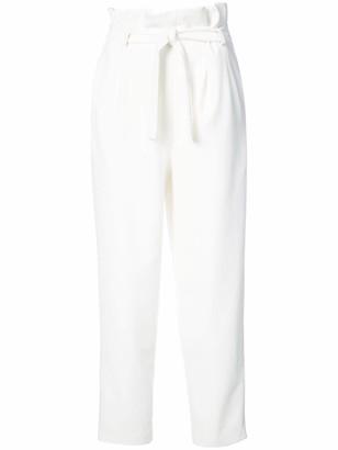 Josie Natori Paperbag Waist Trousers