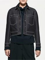Calvin Klein Platinum Bonded Denim Jacket