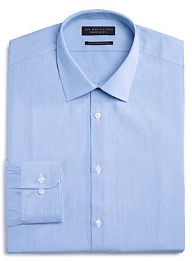 The Men's Store at Bloomingdale's Fine Stripe Regular Fit Dress Shirt - 100% Exclusive