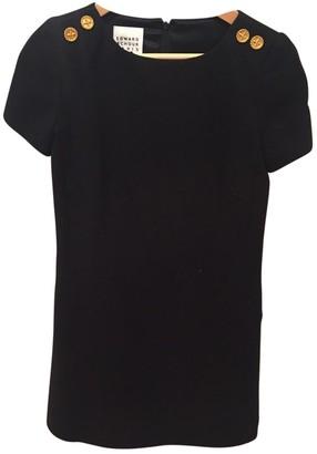 Edward Achour Black Wool Dress for Women