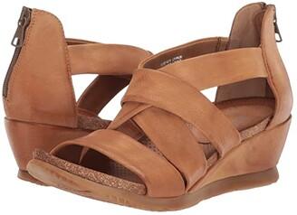 Miz Mooz Mika (Wheat) Women's Wedge Shoes