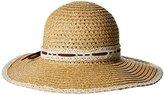 San Diego Hat Company Women's Floppy Sun Hat with Lace Trim