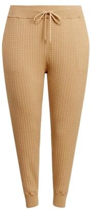 Lauren Woman Ralph Lauren Cable-Knit Jogger Pant