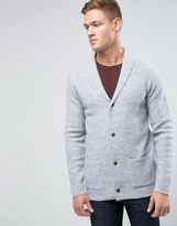 Selected V-Neck Cardigan in Wool