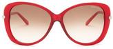 Tom Ford Women&s Linda Butterfly Sunglasses