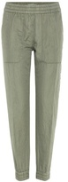 Closed Jason linen and cotton trousers