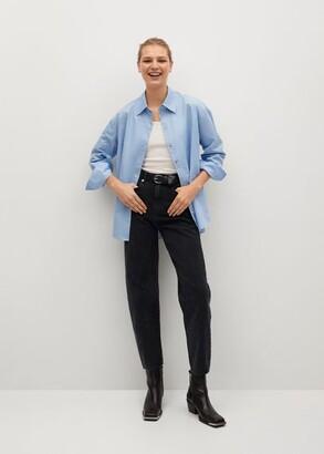 MANGO High-waist balloon jeans