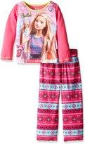 Barbie Big Girls' 2pc Sleepwear Set