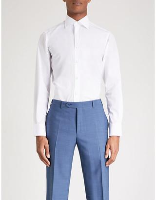 Canali Regular-fit cotton shirt