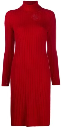 Maison Margiela Distressed Knit Dress