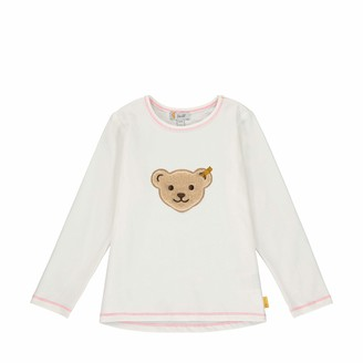 Steiff Girls' mit Teddybarmotiv Cardigan Sweater
