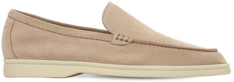 Loro Piana 10mm Summer Walk Suede Loafers