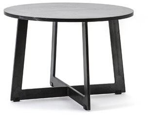 """By Boo Cross Legs Coffee Table Size: 16"""" H x 24"""" L x 24"""" W"""