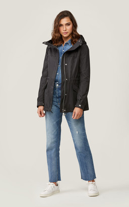 Soia & Kyo JOSELYN straight-fit water-repellent jacket