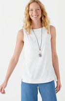 J. Jill Embroidered-Back Tank