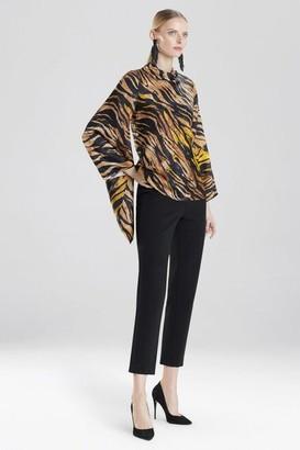 Natori Tigress Kimono Sleeve Top