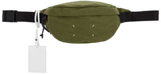 Maison Margiela Green Canvas Fanny Pack