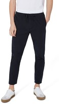 Topman Men's Skinny Fit Pinstripe Trousers