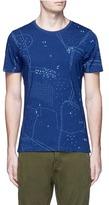 Denham Jeans 'Landloper' map print T-shirt