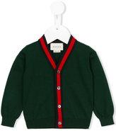 Gucci Kids - v-neck cardigan - kids - Cotton - 6-9 mth