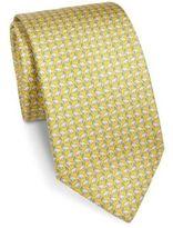 Salvatore Ferragamo Rhino Printed Silk Tie