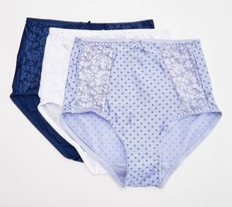Bali Set of 3 Essentials Double Support Brief Panties