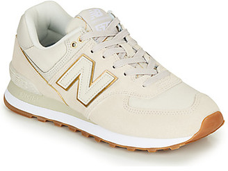 New Balance 574 women's Shoes (Trainers) in Beige