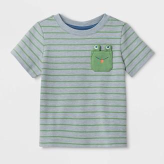 Cat & Jack Baby Boys' Frog Pocket T-Shirt - Cat & JackTM