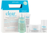 philosophy 'Clear Days Ahead' Acne Treatment Trial Kit
