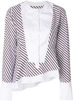 Carven striped blouse - women - Cotton - 36