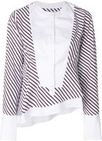 Carven striped blouse