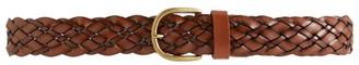 Max Mara Braided Leather Belt