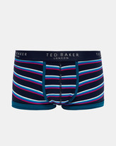 Ted Baker Striped organic cotton-blend boxers