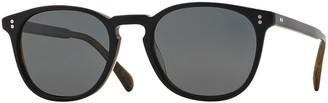Oliver Peoples Finley Esq. 51 Acetate Polarized Sunglasses, Black