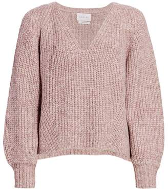Eleven Paris Six Tess Blouson Sleeve Sweater