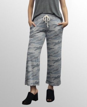 Coin 1804 Womens Camo Print Cropped Pants