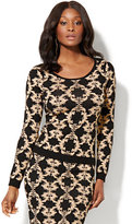 New York & Co. Gorgeous Lurex Sweater!!