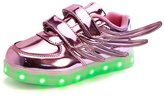 CICI Led Light Up Shoes 11 Colors Flashing Rechargeable Sneakers for Kids Boys Girls