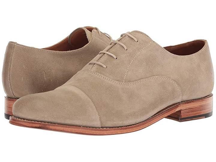 Grenson Benjamin Cap Toe Suede Oxford Men's Shoes