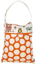 Logan & Lenora Daytripper Wet & Dry Tote - Earthy Owls