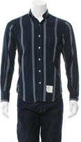 Thom Browne Striped Button-Down Shirt
