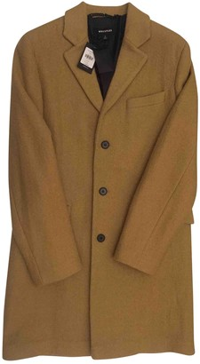 Whistles Yellow Wool Coats