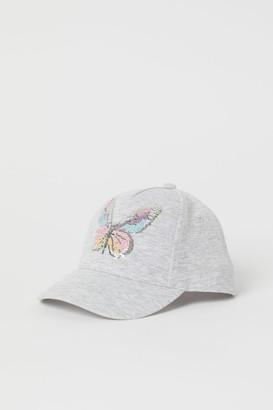 H&M Graphic-design Cap - Gray