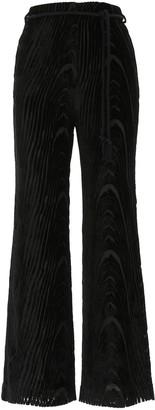 Nanushka Giada High-Waisted Pants