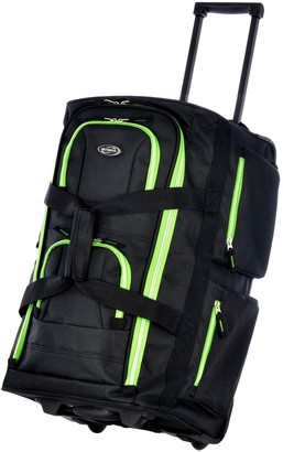 On Olympia USA Carry 8-Pocket Rolling Duffel Ba g